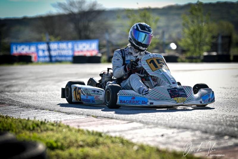 Једини картинг возач из Тополе и ову сезону започео са успешним резултатима