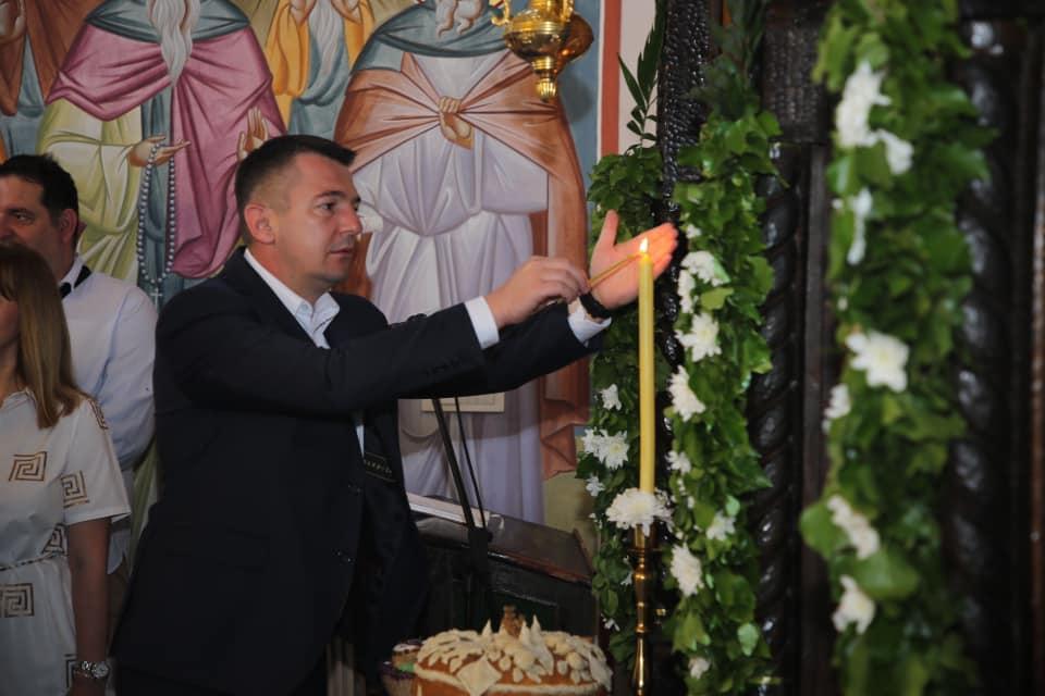 Обележена слава Горњег Милановца и Цркве Свете Тројице