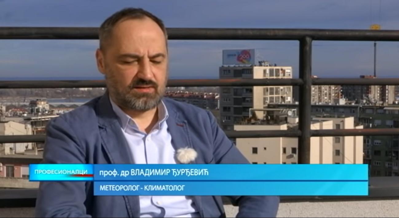 Ђурђевић: Очекују нас екстремна лета, блага ће бити ретка