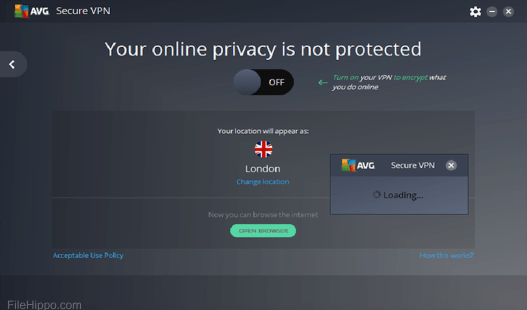 AVG Secure VPN 1.7.670 Crack With Keygen Free Here