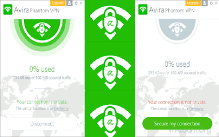 Avira Phantom VPN 2.19.1.25749 Serial Key & Crack [Latest] 2019