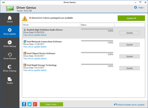 Driver Genius 19.0.0.0 Crack Plus License Code Free Download