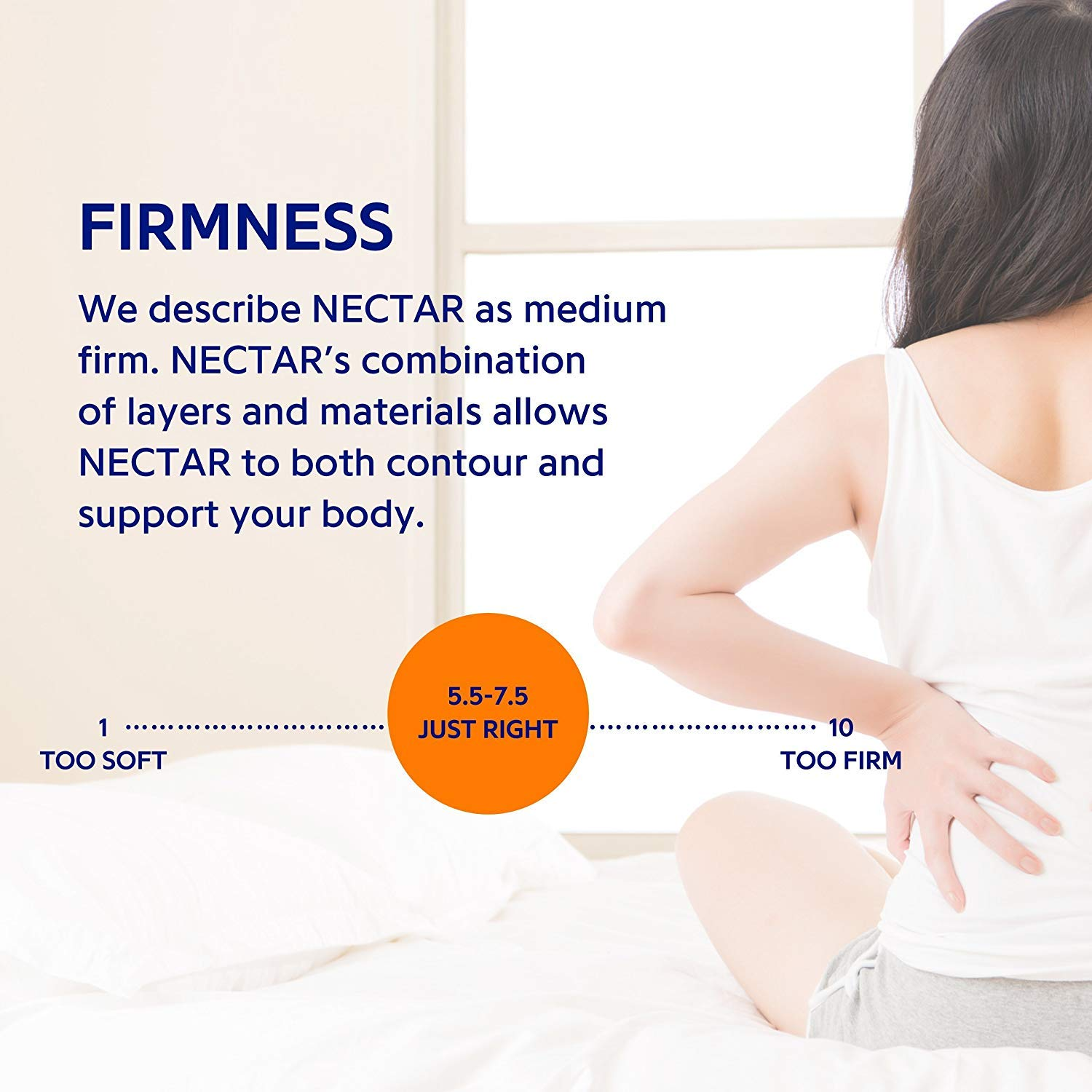 Nectar Full Memory Foam Mattress Under 1000 topdatedhomeproducts info