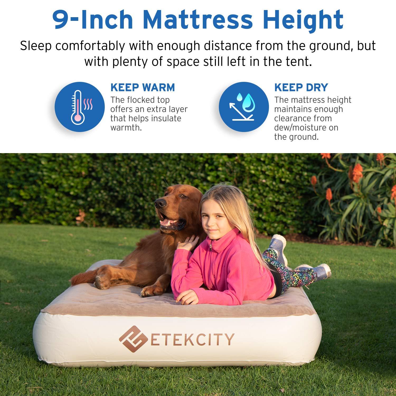 Etekcity Queen Twin Size Camping Air Mattress