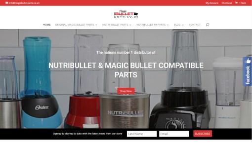Magic Bullet Parts
