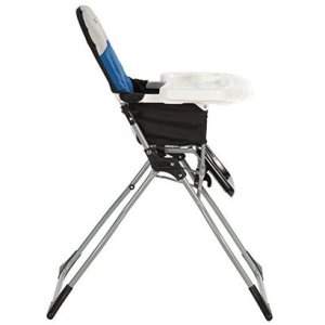 cosco simple fold high chair colorblock surf the web in blue color