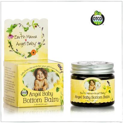 earth mama angel baby bottom balm zinc and lanolin free calendula herbal diaper cream