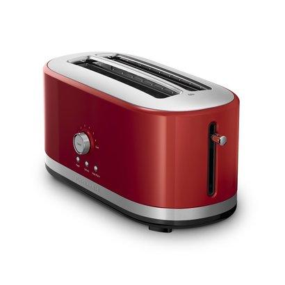 kitchenaid kmt4116er 4-slice long slot toaster with high lift lever