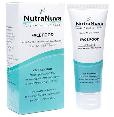 nutra nuva face food anti aging cream and eye wrinkle moisturizer