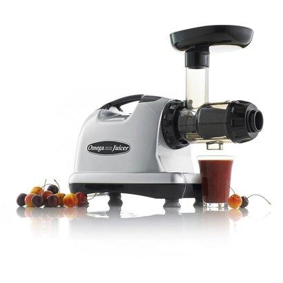 omega j8006 nutrition center juicer electric masticating juicer black and chrome