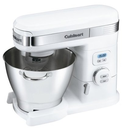 cuisinart sm-55 5-1/2-quart 12-speed electric stand mixer with powerful 800-watt motor and 3 pieces accessories