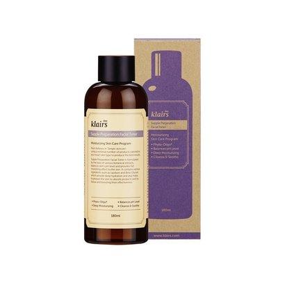 dear klairs supple preparation facial toner moisturizing skin care cream