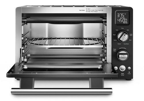 kitchenaid kco275ob 12-inch convection 1800-watt digital countertop oven with ceramashield coating