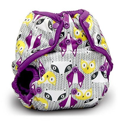 rumparooz one size cloth diaper cover snap 4 adjustable rise settings water resistant polyester-tpu