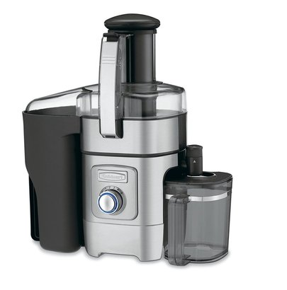 cuisinart cje-1000 die-cast juice extractor with large 3-inch feeding chute and powerful 1000-watt motor