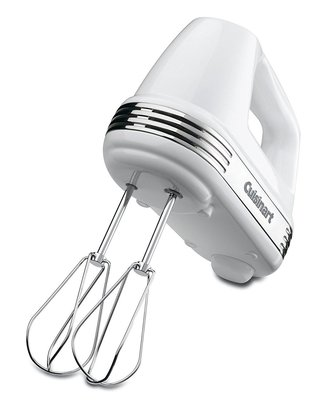 cuisinart hm-70 advantage 7-speed hand mixer with powerful 220-watt motor and exclusive rotating swivel cord