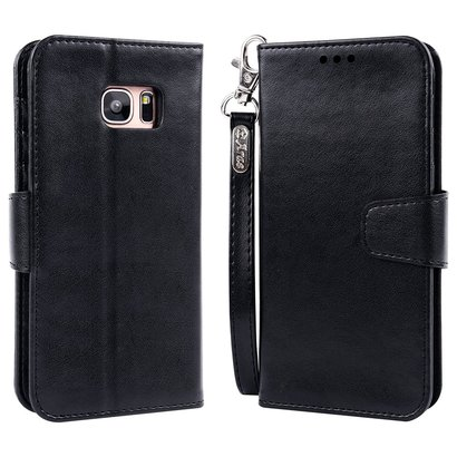 area classcial wallet case for galaxy s7 edge pu leather wallet case with id and credit card pockets