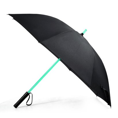 bestkee lightsaber umbrella with 7 different shining led colors on the shaft
