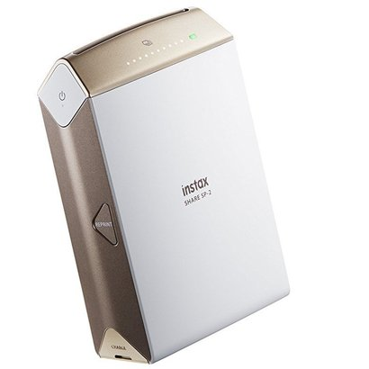 fujifilm instax share smartphone printer sp-2 with high luminance led and rechargeable battery