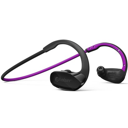 phaiser bhs-530 bluetooth 4.1 hd stereo headphones with noise canceling mic and sweatproof buds wireless earbuds