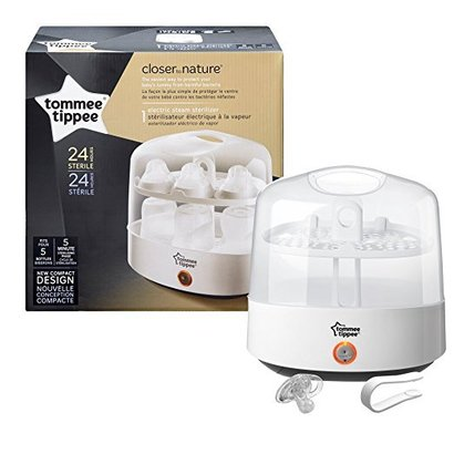 tommee tippee closer to nature electric steam sterilizer for 5 bottles