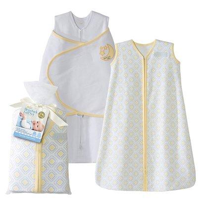 halo sleepsack gift set includes swaddle and wearable blanket