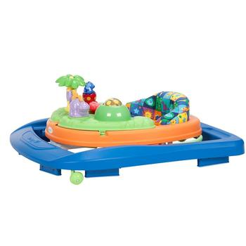 safety 1st sounds 'n lights activity walker with toys, songs, sounds, and large snack and play tray