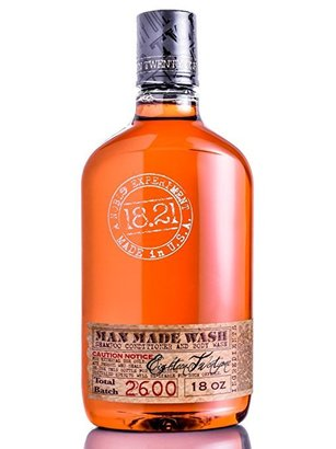 18.21 man made wash 3 in 1 shampoo, conditioner and body wash