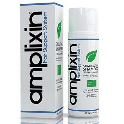amplixin natural hair stimulating shampoo prevent hair loss and baldness for women and men