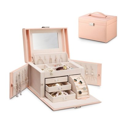 vlando jewelry box city beauty with dust bag wonderful gift for beloved woman