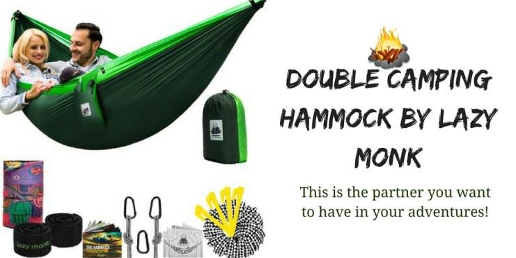 lazy monk double camping hammock
