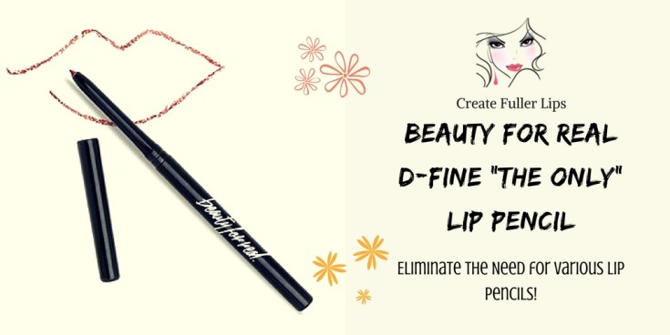 """Beauty for Real D-Fine """"The Only"""" Lip Pencil"""