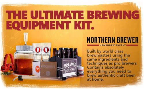 northern brewer go pro 1 gallon small batch home brew starter kit great gifts for beer brewers