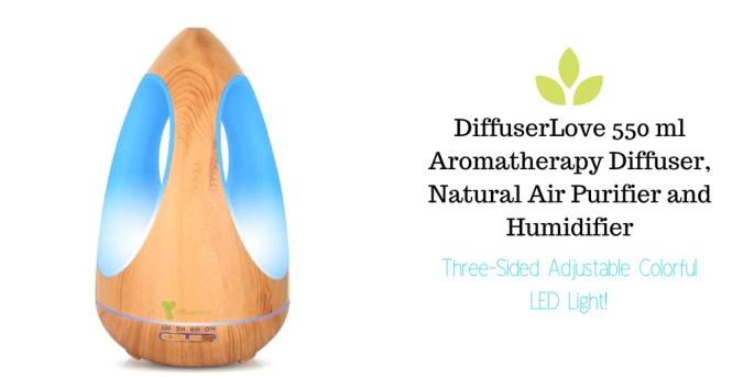 DiffuserLove 550 ml Aromatherapy Diffuser