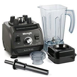 mengk 1500-2000 w shakes blender with 67oz bpa free high hardness stir jar, 6 stainless steel pro blades and 27000 prm powerful motor