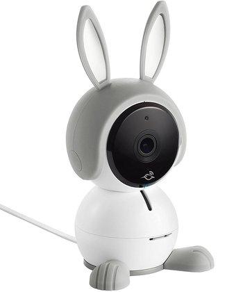 netgear arlo baby 1080p hd monitoring camera with night vision, 2-way talk, air sensor, music player, works with amazon alexa, apple homekit and more