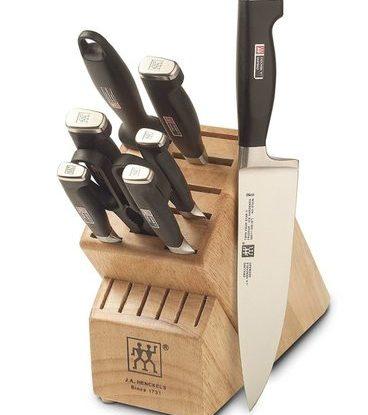 zwilling ja henckels four star 9-piece knife set