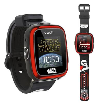 vtech star wars first order stormtrooper smartwatch for kids with touch screen digital camera, galactic voice changer and mini activities