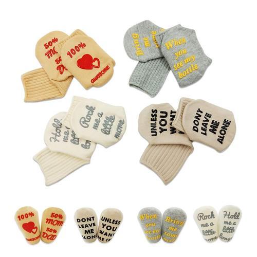 CalMyotis Baby Saying Cute Socks