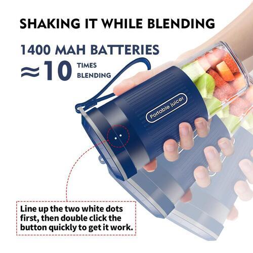 AUZKIN BPA free IP68 waterproof 10 oz Personal Blender