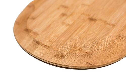 Frederica Trading Premium Bamboo Wood Pizza Peel Paddles Best Pizza Lovers Gift