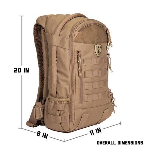 TBG 3.0 Daypack Men's Diaper Backpack Set