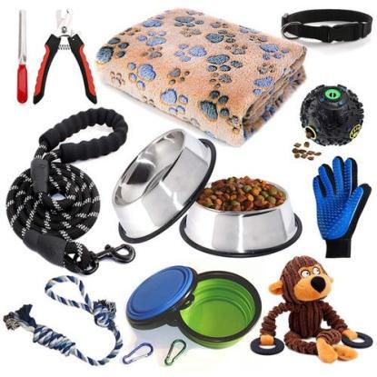 12 pieces Puppy Supplies Set by LOBEVE