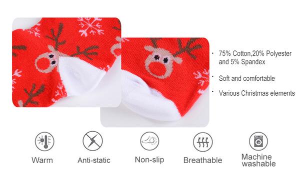 Loozykit Womens and Mens Christmas Socks in Gift Box
