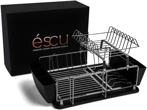 éscu two-tier dish rack in gift box the best luxury housewarming gift