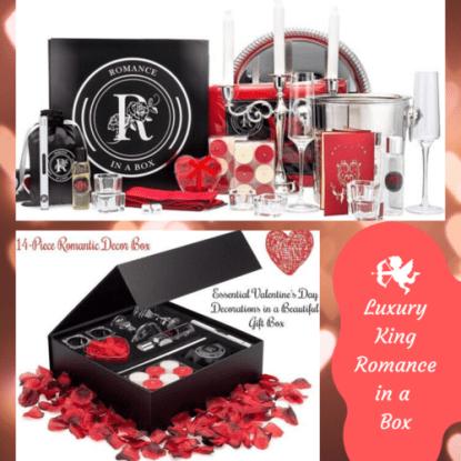 Luxury King Romance-in-a-Box by Romance Helpers
