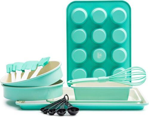 GreenLife Dishwasher Safe 12 piece Healthy Ceramic Nonstick Baking Set