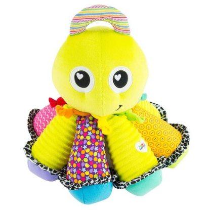 LAMAZE Octotunes Colorful Stuffed Baby Development Cuddling Toy