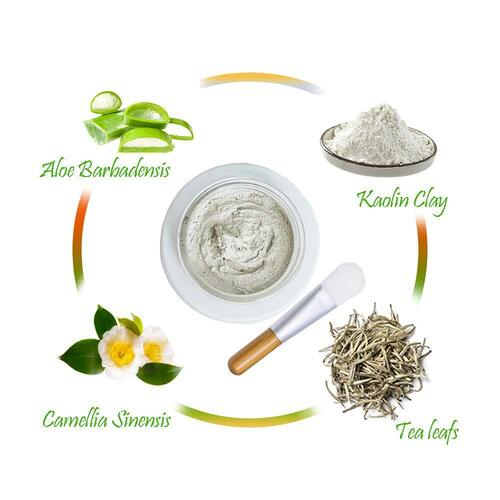 Once Upon A Tea 100% Vegan White Tea Mud Mask