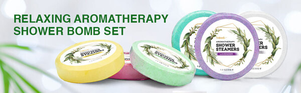 Viebeauti 6 piece Aromatherapy Shower Steamer